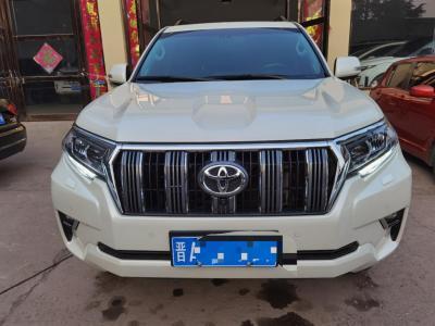 2019年10月 丰田 普拉多 3.5L 自动VX NAVI后挂备胎图片