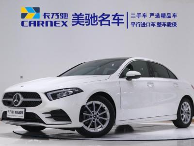 奔驰 奔驰A级  2020款 改款 A 200 L 运动轿车时尚型