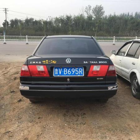 【潍坊】2002年7月 大众 桑塔纳 2000 1.8 gsi 时代超人 黑色 手动挡
