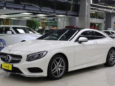 奔驰 S级  S400 4MATIC Coupe 3.0T