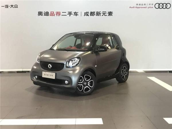 Smart Fortwo  Coupe 1.0T 炫闪特别版
