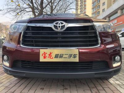 丰田 汉兰达  2015款 2.0T豪华版