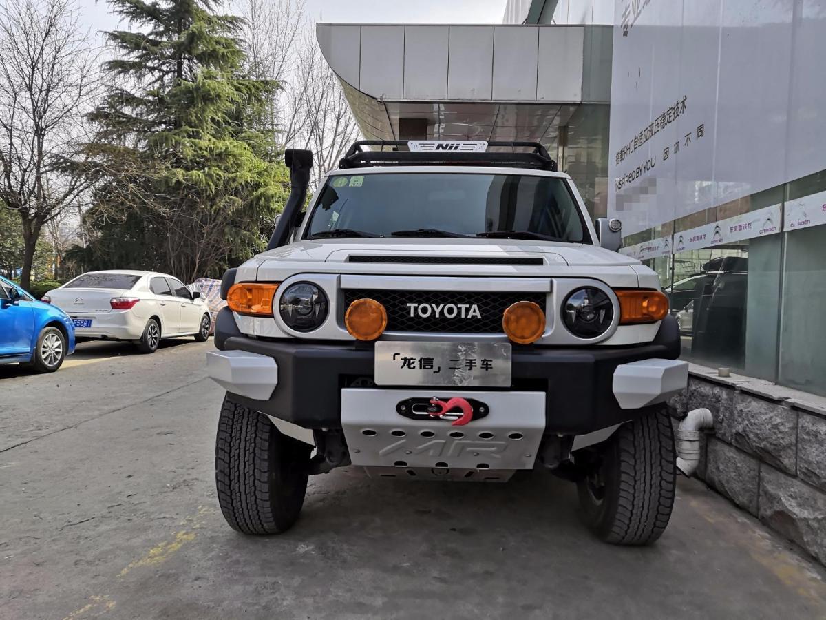 丰田 FJ酷路泽  2011款 4.0L图片