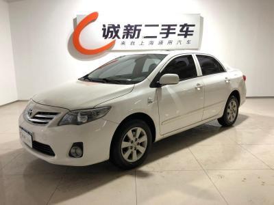 丰田 卡罗拉  2012款 1.6L GL炫装版图片