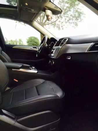 【厦门】2014年8月 奔驰 ml级越野车 ml320 4matic 白色 自动档图片