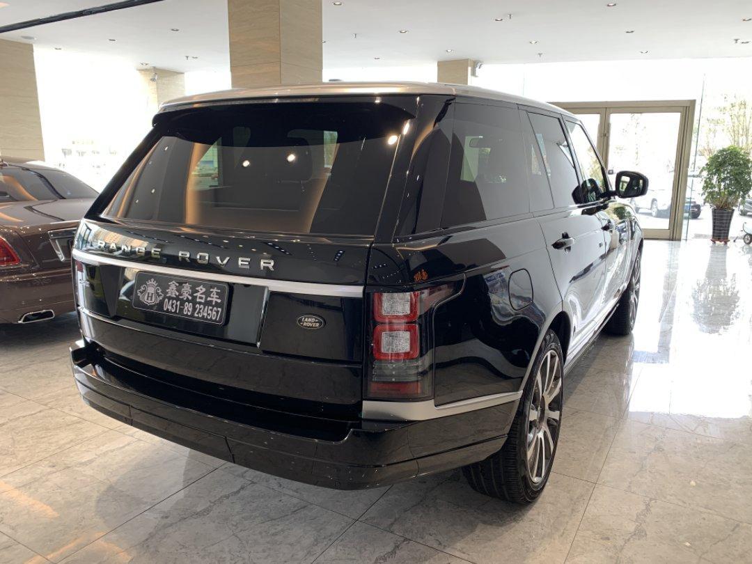 路虎 攬勝行政版  2014款 3.0T Vogue 汽油型圖片