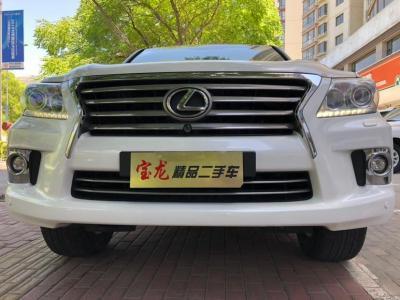 雷克薩斯 LX  2013款 570