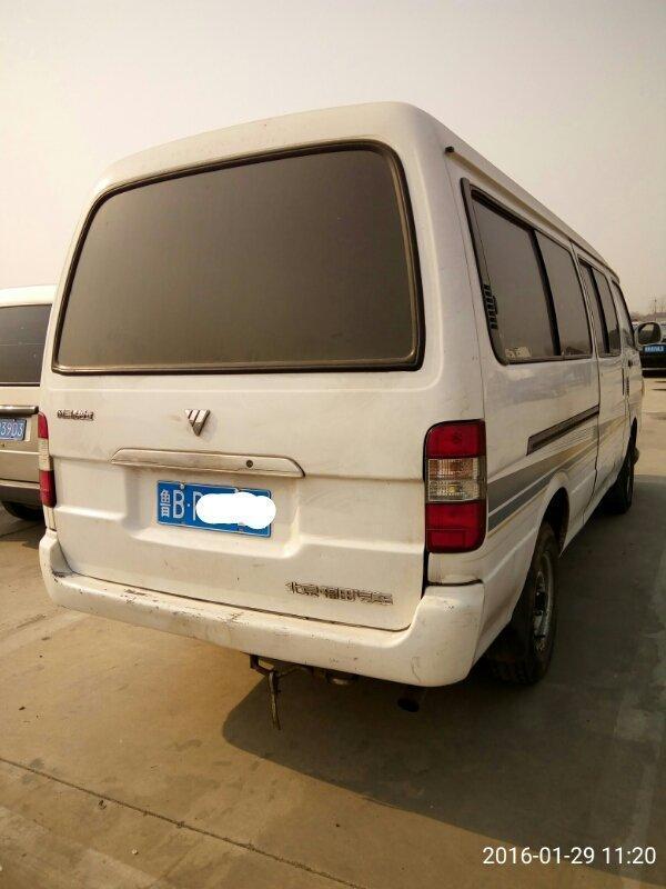 【青岛】2009年10月 福田 风景 2009款 福田风景 柴油 长轴 经典型 白