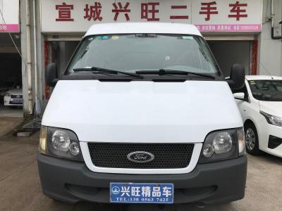 福特 经典全顺  2013款 2.8T柴油普通型短轴中顶JX493ZLQ4