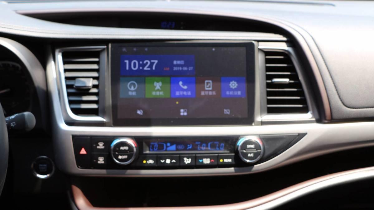 丰田 汉兰达  2017款 2.0T 四驱至尊版 7座图片