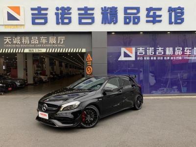 奔驰 奔驰A级AMG  2017款 改款 AMG A 45 4MATIC图片