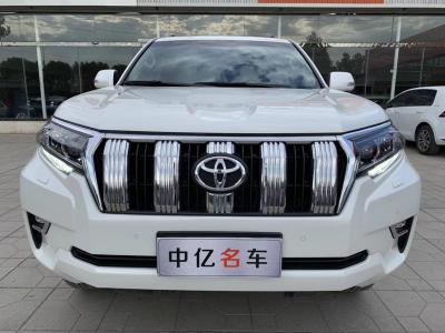 2018年3月 丰田 普拉多 3.5L 自动TX-L NAVI后挂备胎图片