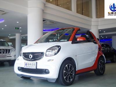 smart fortwo  2016款 1.0L 52千瓦敞篷激情版