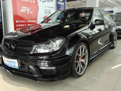 奔驰 奔驰C级AMG  2014款 AMG C 63 Edition 507图片