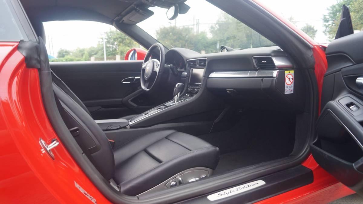 保时捷 911  2015款 Carrera Cabriolet 3.4L Style Edition图片