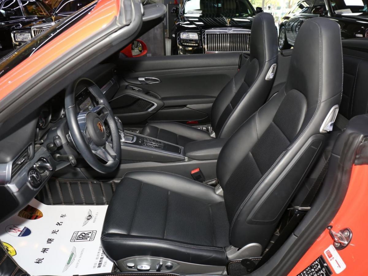 保时捷 911  2016款 Carrera S Cabriolet 3.0T图片