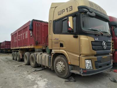 陝汽德龙半挂自卸车,国五排放图片