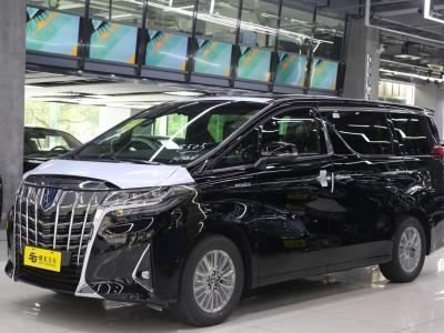 丰田 埃尔法  2019款  双擎 2.5L 尊贵版