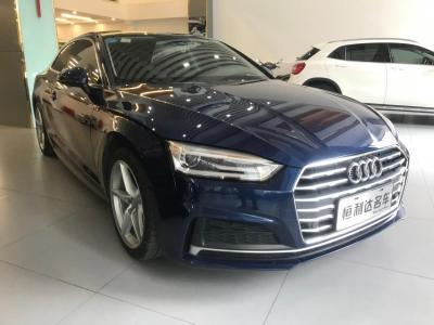 2018年1月 奥迪 奥迪A5(进口) Coupe 40 TFSI 时尚型图片