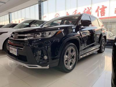豐田 漢蘭達  2018款 2.0T 四驅至尊版 7座
