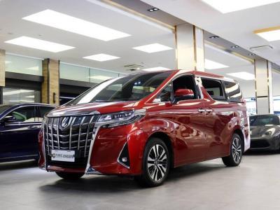 2019年2月 豐田 埃爾法(進口) 改款 3.5L 尊貴版圖片