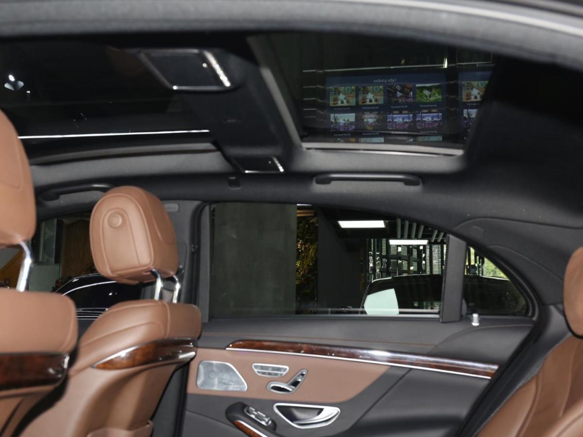 奔驰 奔驰S级  2016款 S 400 L图片
