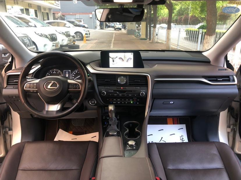 雷克萨斯 RX  2017款 300 Mark Levinson 四驱F SPORT版 国VI图片
