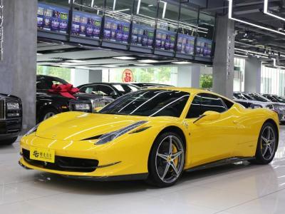 2014年5月 法拉利 458  4.5L Italia图片