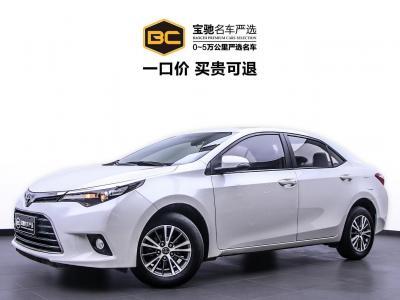2016年7月 丰田 雷凌 1.6G CVT精英版图片
