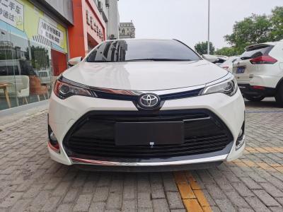 2017年6月 丰田 雷凌  改款 185T CVT精英版 国V图片