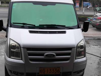 2010年11月 福特 新世代全顺 2.4T柴油豪华型长轴中顶国III图片