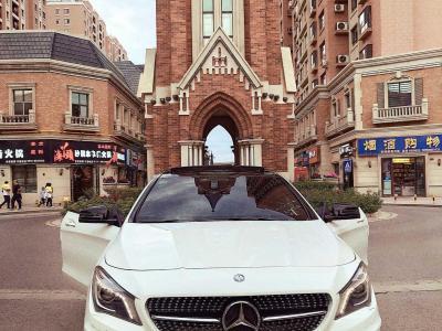 奔驰 奔驰CLA级  2014款 CLA 260 4MATIC图片