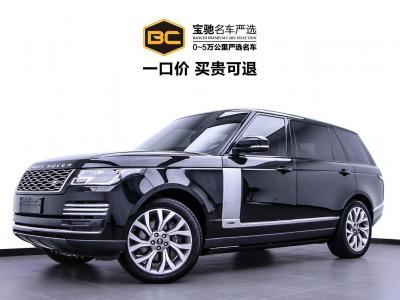 2019年5月 路虎 揽胜(进口) 3.0 V6 SC Vogue SE 创世加长版图片