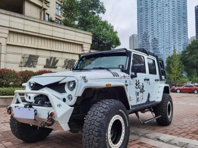 2017年8月 Jeep 牧马人  2.8TD Sahara 四门版图片