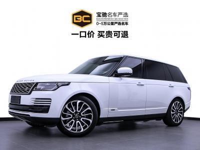 2018年7月 路虎 揽胜(进口) 3.0 V6 SC Vogue 传世加长版图片
