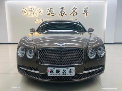 宾利 飞驰  2013款 6.0T W12 Mulliner