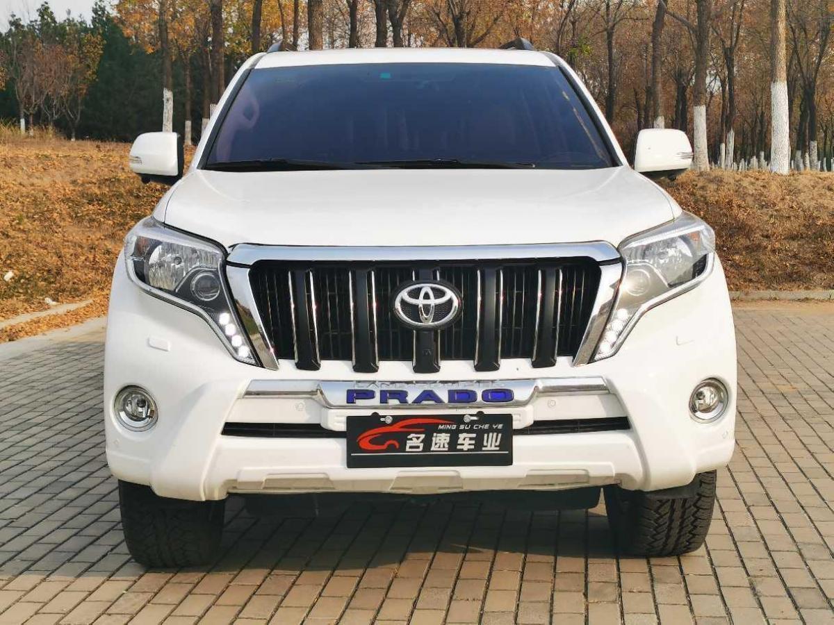 唐山二手丰田普拉多2014款4.0L自动TX-L手自一体报价44.5万