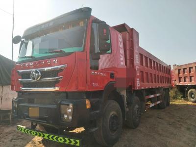 红岩杰狮前四后八自卸车,国五排放图片
