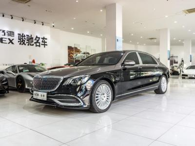 奔驰 迈巴赫S级  2019款 S 450 4MATIC