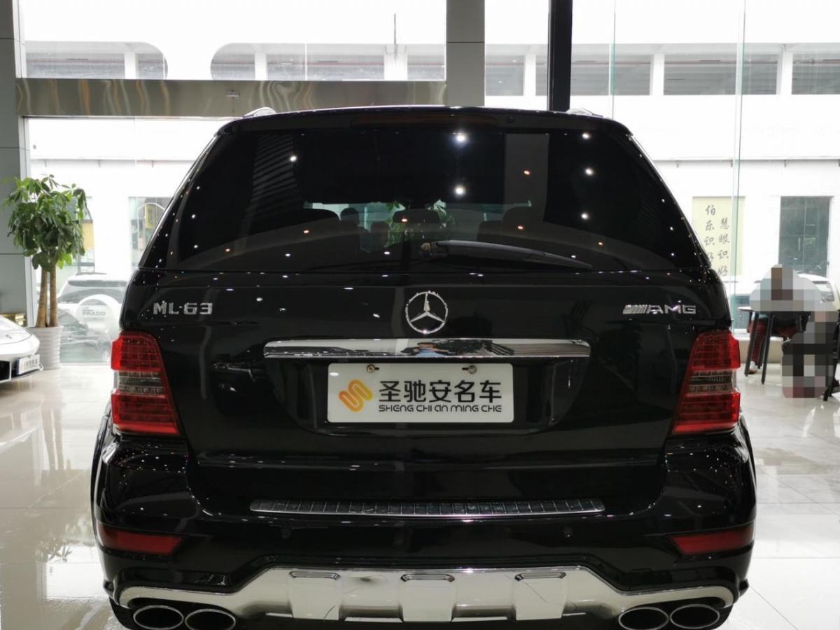 奔驰 奔驰M级AMG  2011款 AMG ML 63图片