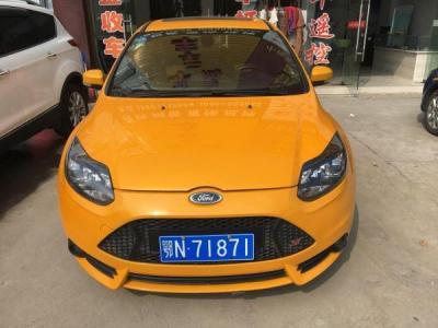 福特 福克斯 ST 2.0T 橙色版图片