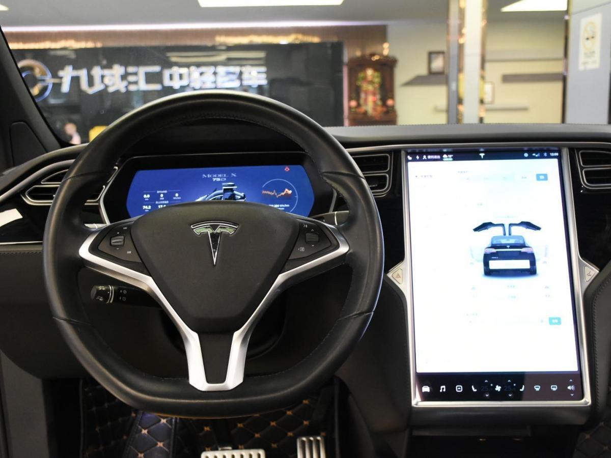 特斯拉 Model X  2016款 Model X 75D图片