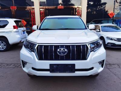 丰田 普拉多 3.5L 自动TX-L后挂备胎图片