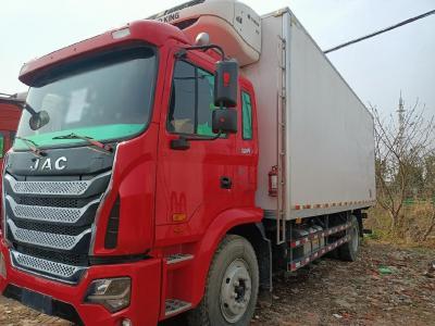 江淮格尔发单桥独立冷藏车,7.8米国五排放