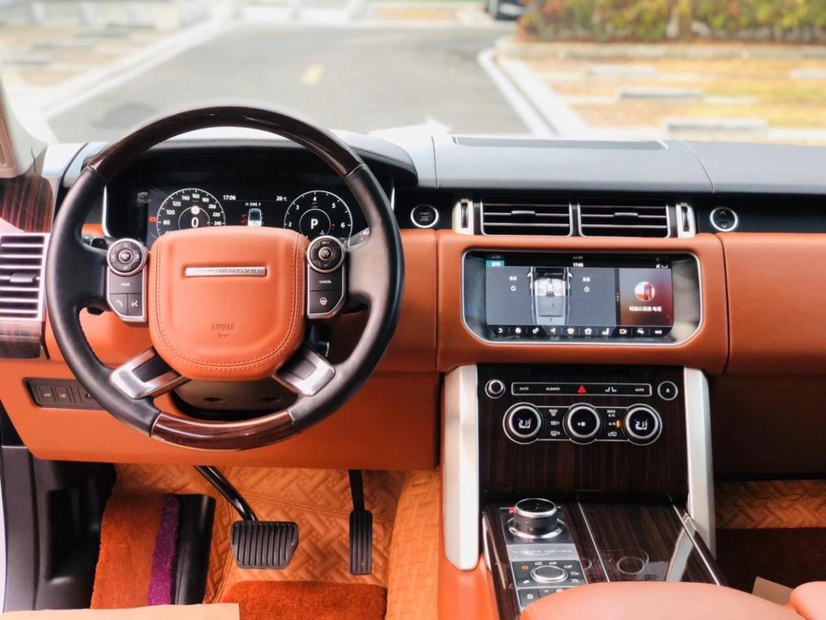 路虎 揽胜  2016款 3.0 TDV6 Hybrid Vogue SE 创世加长版图片