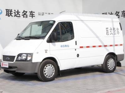 2015年9月 福特 经典全顺 2013款2.8T改款柴油厢式运输车短轴中顶JX493ZLQ4图片