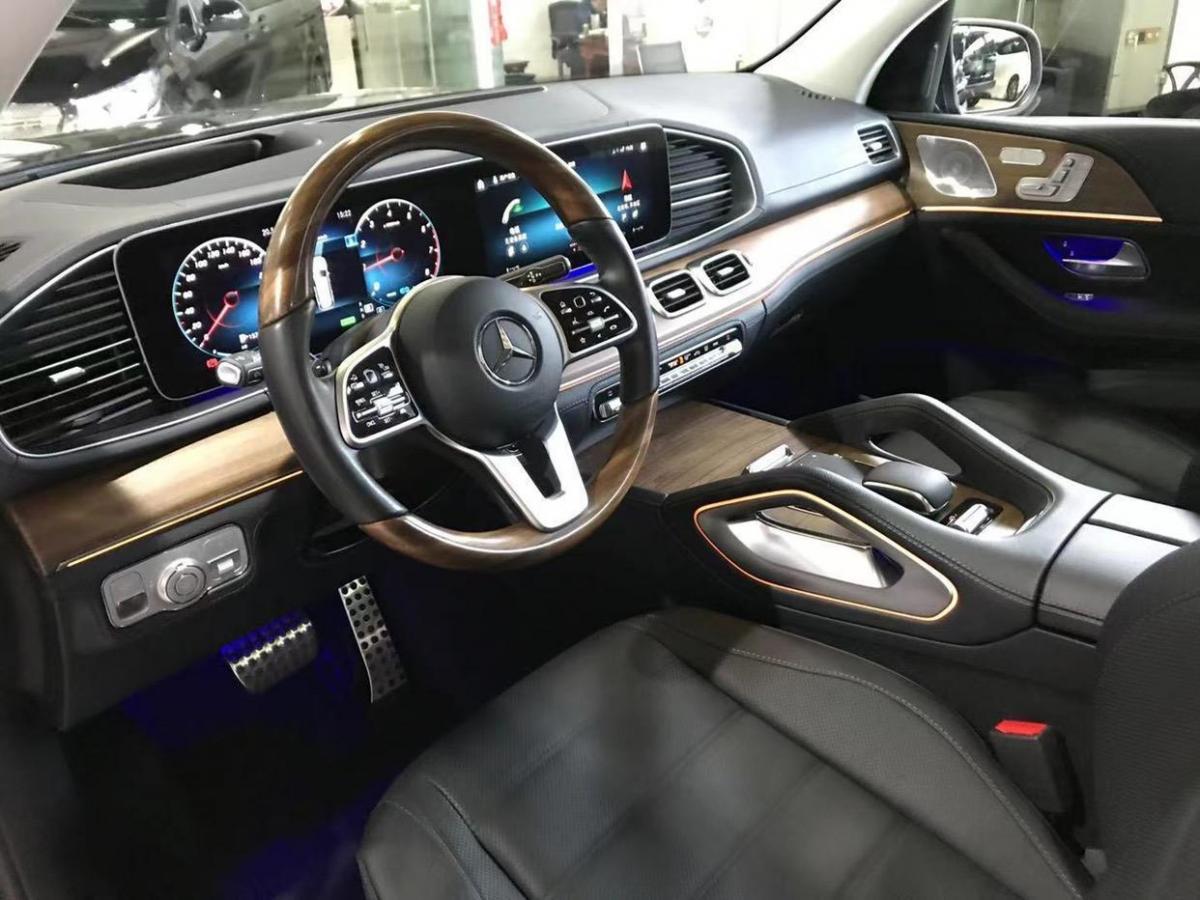 奔驰 奔驰GLS  2020款 GLS 450 4MATIC豪华型图片