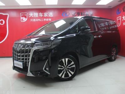 豐田 埃爾法  2018款 改款 3.5L 豪華版