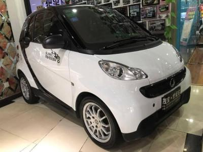 Smart图片 Fortwo Coupe 1.0 MHD 紫夜限量版