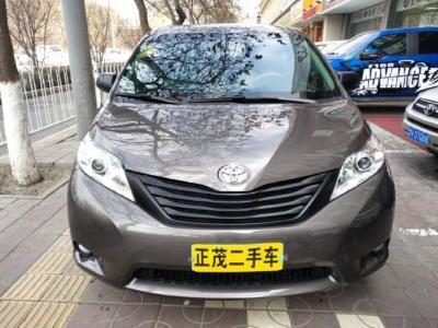 2016年5月 丰田 塞纳  3.5L 两驱 低配图片